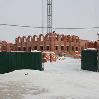 Строительство Свято-Троицкого Соборного храма, Рузаевка