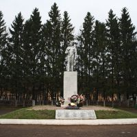 Памятник погибшим воинам, Рузаевка