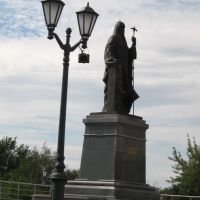 2006 Саранск. Памятник патриарху Никону, Саранск