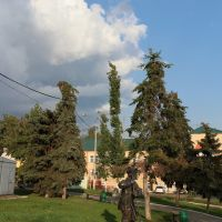 Саранск Памятник дворнику, Саранск