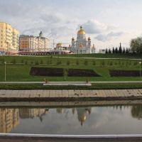 На набережной Саранска, Саранск