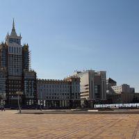 Здания университета на площади Тысячелетия в Саранске, Саранск