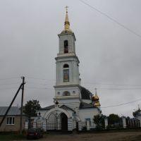 Успенская церковь, 1827 год, Темников
