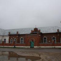 В этом здании с 1909 по 1946 гг работал А.И.Рудявский, Темников