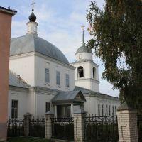 Казанская церковь, XVIII век, Теньгушево