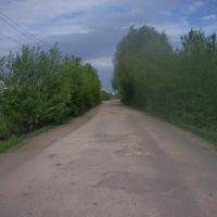 Проезд на Зелёную, Первомайскую и Строительную ул., Торбеево