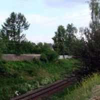 The railway near the station Bolshevo, Королев