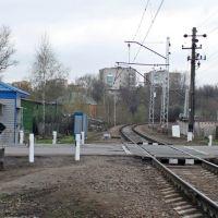 Railway crossing Bolshevo-Yubileyniy, Королев
