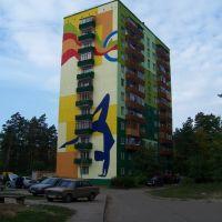 Protvino, Pobedy street, Протвино