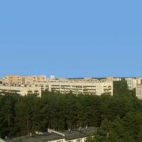 Вид с гостиницы, Протвино