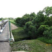 Рогачёво. Мост через речку Лбовка., Абрамцево