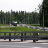 Транспортная развязка-пересечение М-3 И А-107 ММК., Алабино