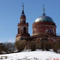 храм в архангельском, Архангельское