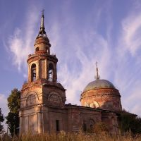 Church in Arkhangelskoe, Архангельское