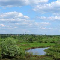 Река Нерская и храм в Ашитково, Ашитково