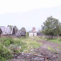 Сараи, вид на белый дом, Бакшеево