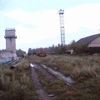 Станция, пути на поля, Бакшеево