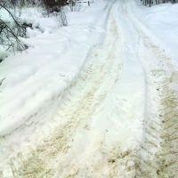 Дорога на озеро Смердячье, Бакшеево