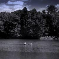 Лодка на реке (The boat in the river), Балашиха
