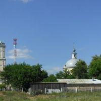Церковь Трех Святителей 1827, Белоомут