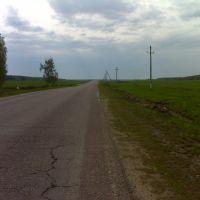 Дорога Растуново-Шишкино, Белые Столбы