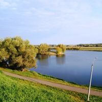 Москва-река, Бронницы