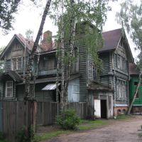 деревянный дом, Быково