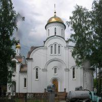 новая церковь в Быково, Быково