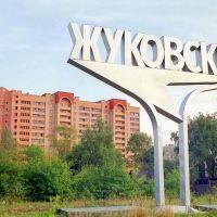 Въезд в город Жуковский, Быково