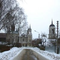 The Vladimir church. On the way / Владимирская церковь. На подходе, Быково