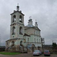 Восстанавливаемый Ильинский храм в г. Верея, Верея