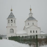 Церковь Богоявления что в Заречеье зима 2011, Верея