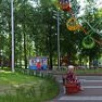 City park of Vidnoe. Pan, Видное