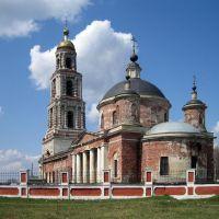 Пророко-Ильинская (Воскресенская) церковь. Ильинский погост, село, Внуково