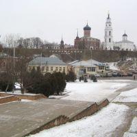 Вид на Октябрьскую площадь  /  View on October Square, Волоколамск