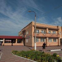 Волоколамск. Здание автовокзала. Volokolamsk. Building bus station, Волоколамск