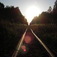 The railway to the sunset, Вороново