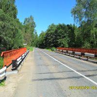 Мост через р.Курга. м, Вороново