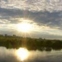 Пирс, очень широкая панорама., Воскресенск