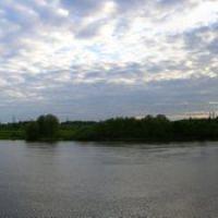 Пирс, очень широкая панорама 2., Воскресенск