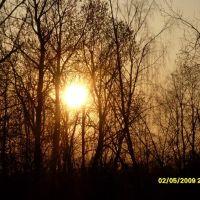 закат, Высоковск