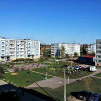 Двор (вид из окна д. № 10), Высоковск
