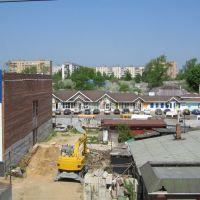 Строительство на привокзальной площади (2006 г.) / Building on Privokzalnaya Square, Голицино
