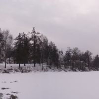 Панорама усадьбы Вяземы, Голицино