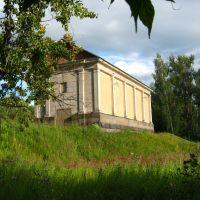 Плотина Яхромского вдхр, Деденево