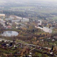 Вид сверху на Деденево, Деденево