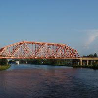 ЖД мост №421 Савеловского направления, Деденево