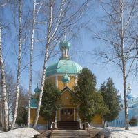 Деденевский Спасо-Влахернский монастырь. Церковь Димитрия Солунского, Деденево