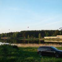 Воздухоплаватели над лесом / Balloonists over the forest, Деденево