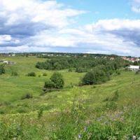 Панорама у деревни Черная, Дедовск